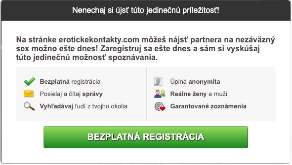 bezplatná registrácia